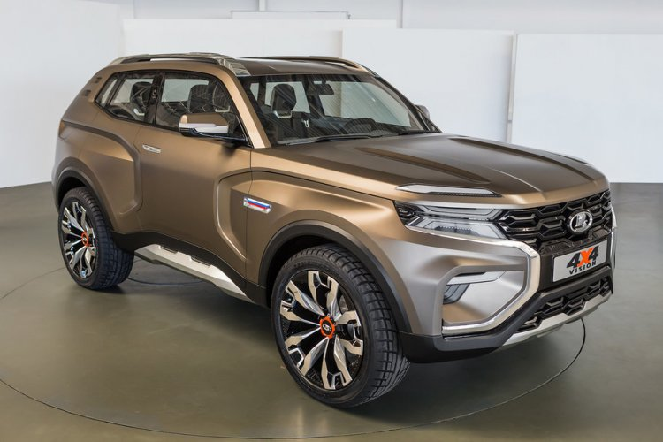 Next Gen Lada 4x4 Lada Niva Previewed By Lada 4x4 Vision Concept