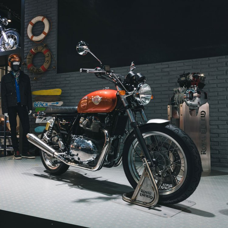 Royal Enfield Interceptor 650 At EICMA 2017