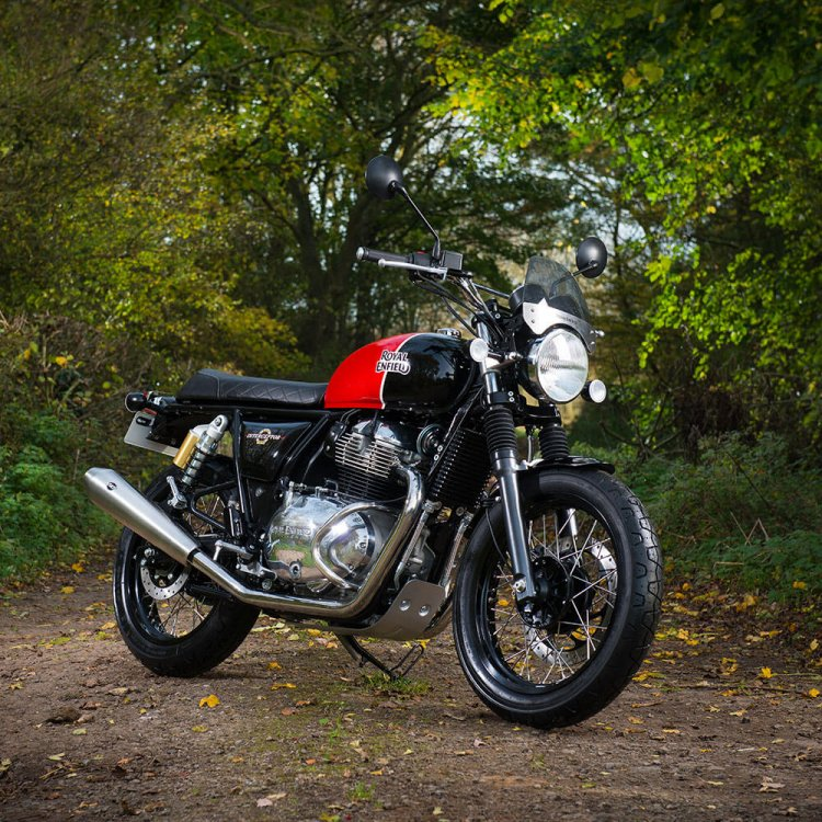Royal Enfield Interceptor INT 650 with S&S Exhaust