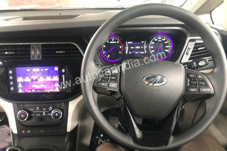 New details of Mahindra Marazzo MPV's interior revealed in latest spy pic