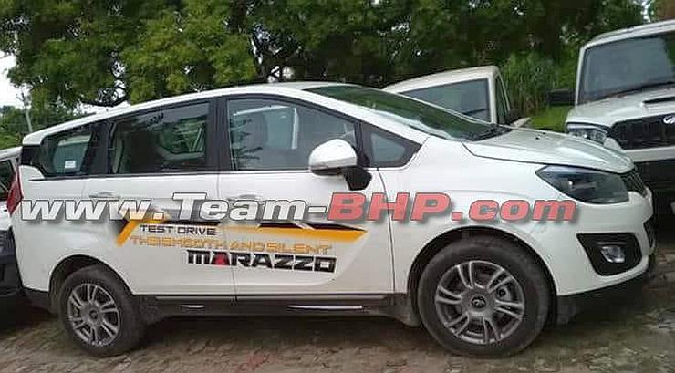 Mahindra Marazzo MPV's exterior totally revealed in latest spy images