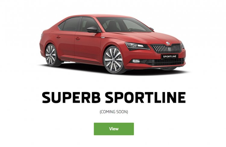 skoda superb sportline india website 8f56