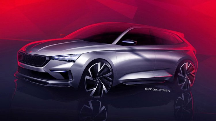 Skoda Vision RS Concept previews next-gen EU Rapid