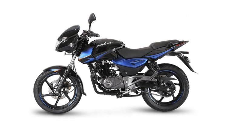Bajaj Pulsar 150 Twin Disc side profile
