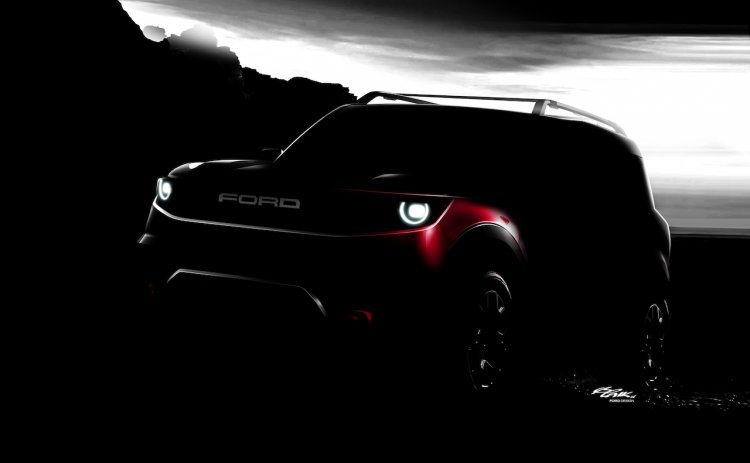 Ford baby Bronco teaser