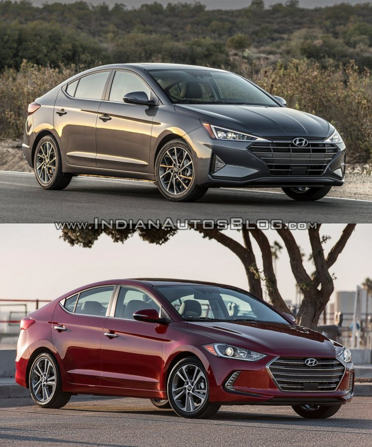 Hyundai Elantra Old vs New - Comparison of Exterior, Interior & Specifications