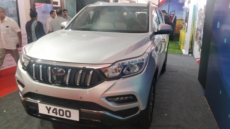 Mahindra Rexton showcased AGM
