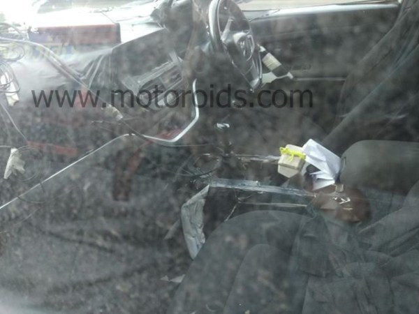 Tata Harrier SUV Shows Off its Interior in Latest Spy Images