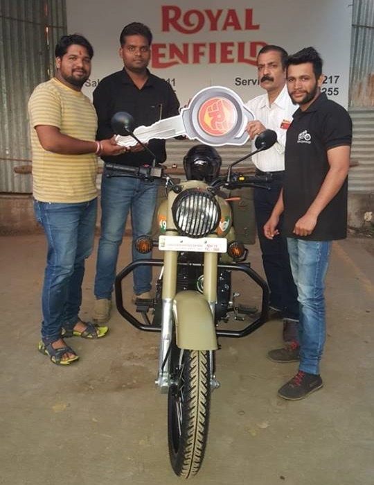 Royal Enfield Classic 350 Signals Edition Deliveries commence