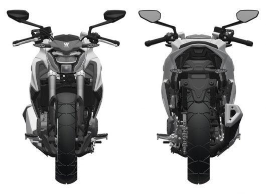 Suzuki Gsx S300 Haojue Hj300 Patent Images Front A
