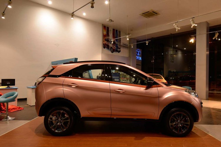 Here are the complete details on the Tata Nexon Rose Gold Edition