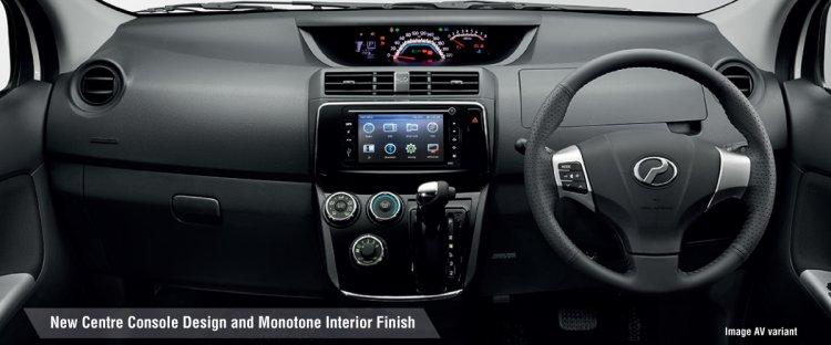 New Perodua Alza Facelift Interior Dashboard