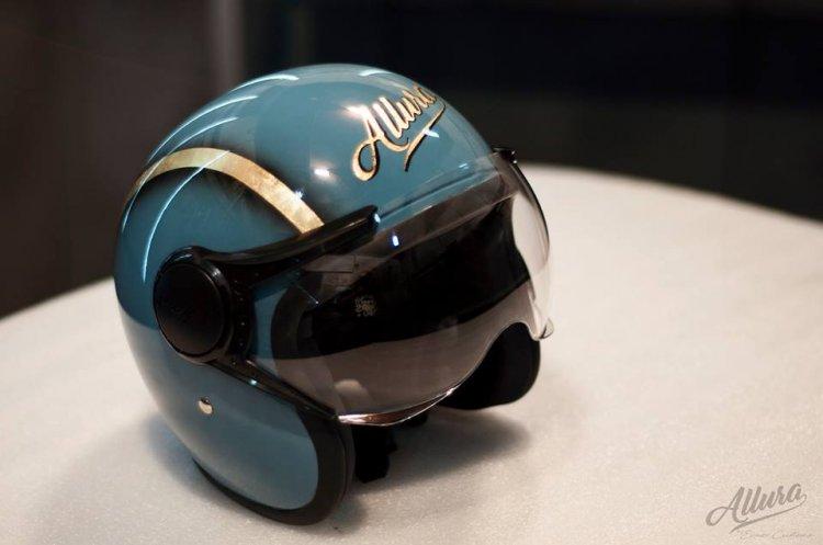 Royal Enfield Desert Storm 500 Allura By Eimor Customs - Helmet