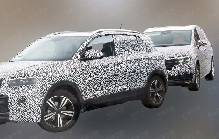 Vw T Cross Exterior Spy Shot China