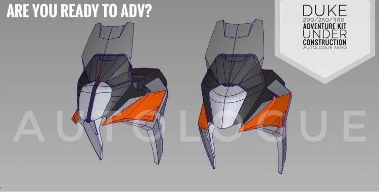 Ktm X Plorer Kit Autologue Designs Fairing Digital Render