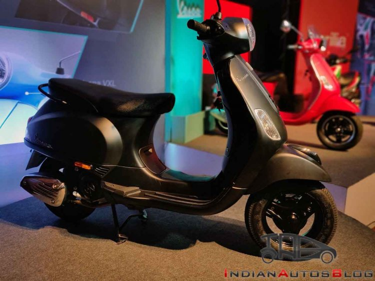 New Vespa Notte 125 Images Side Profile 2