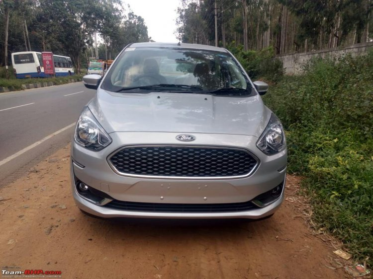 2018 Ford Aspire Facelift Front Image
