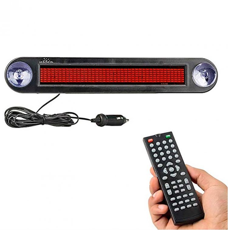 Car Accessories Led Signboard