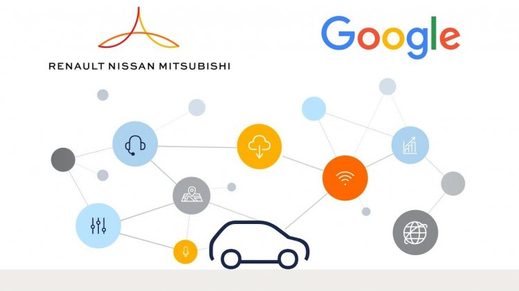 Renault Nissan Mitsubishi Alliance And Google Part