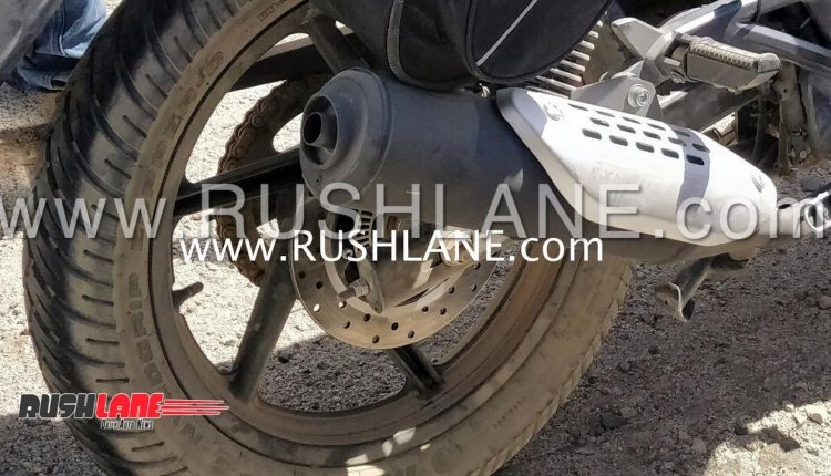 Bajaj Pulsar 150 Abs Spied With Abs Ring