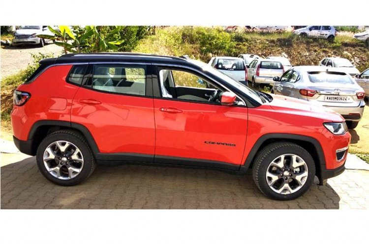 Jeep Compass Limited Plus Red Profile