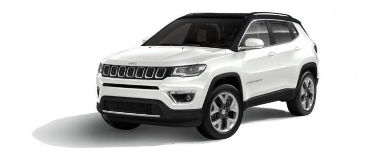 Jeep Compass Limited Plus White