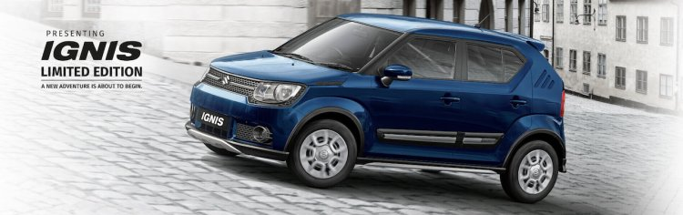 Maruti Ignis Limited Edition Front Three Quarters