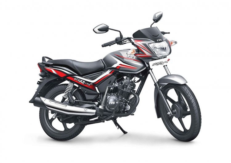 Tvs Star City Plus Grey Black Launched In India