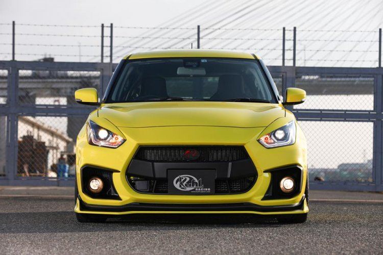 modified Suzuki Swift Sport By Kuhl Racing Front