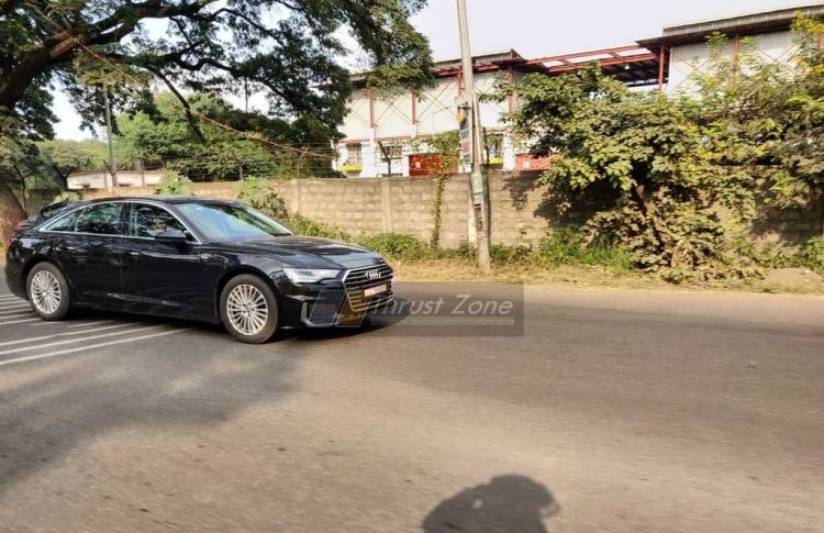 2018 Audi A6 India Images Front Three Quarters 1
