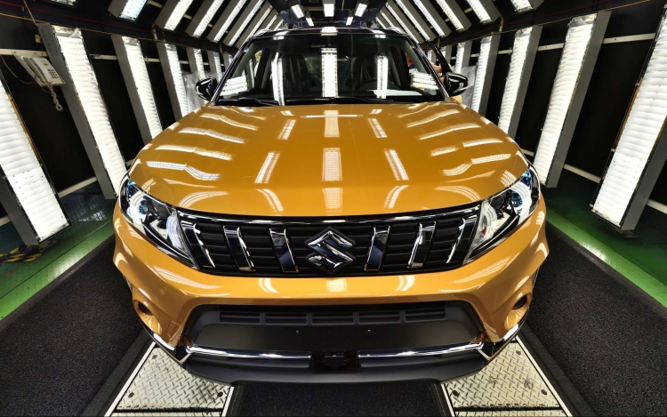 2019 Suzuki Vitara Facelift Front Production
