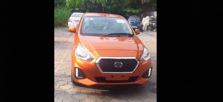 2018 Datsun Go For India Front Image