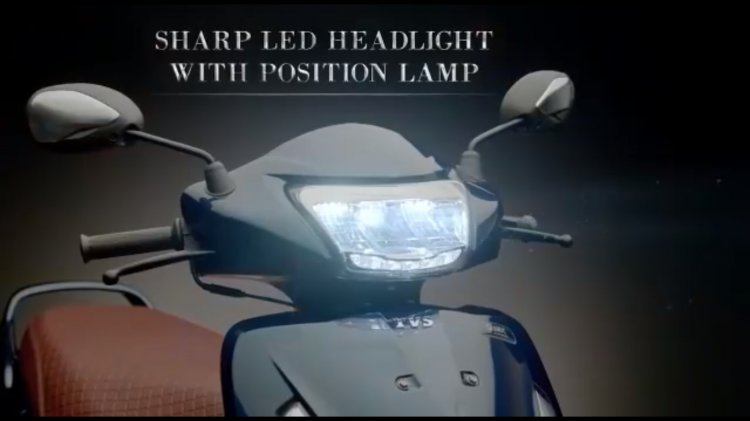 New Tvs Jupiter Grande Led Headlight On