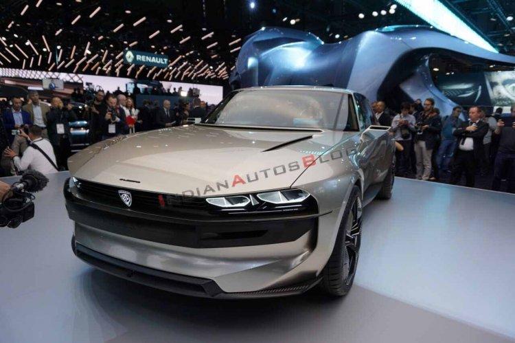 Peugeot E-Legend Concept Image Frontv 5