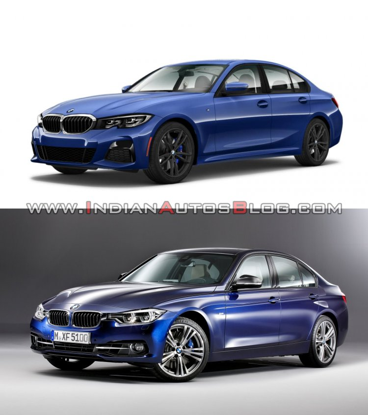 2019 Bmw 3 Series Vs 2016 Bmw 3 Series Front Three