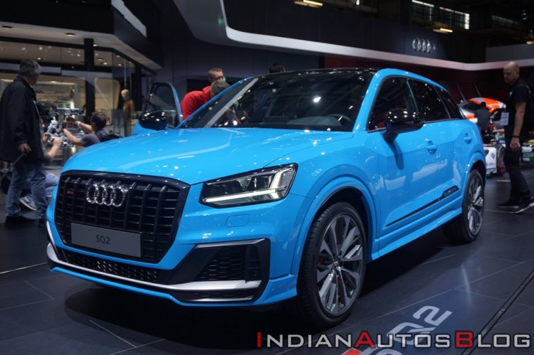 Audi Sq2 At Paris Motor Show 2018 Front Left Quart