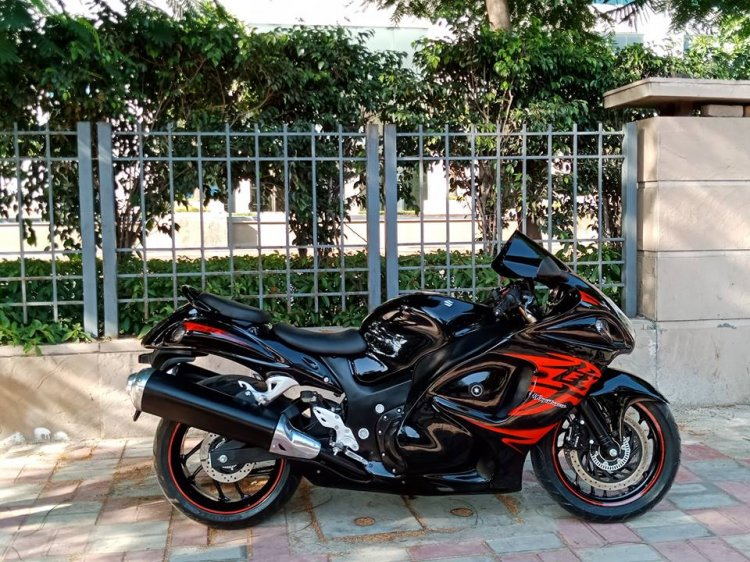 Bajaj Dominar 400 To Suzuki Hayabusa Gsx1300r Conversion