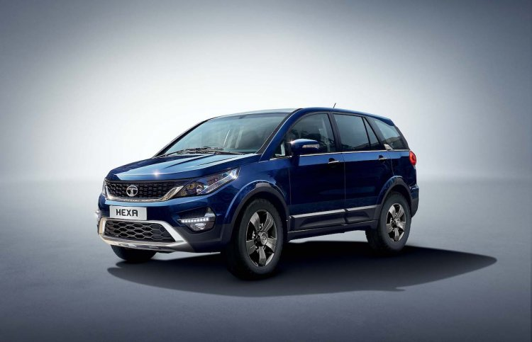 Tata Hexa Xm Front Three Quarters