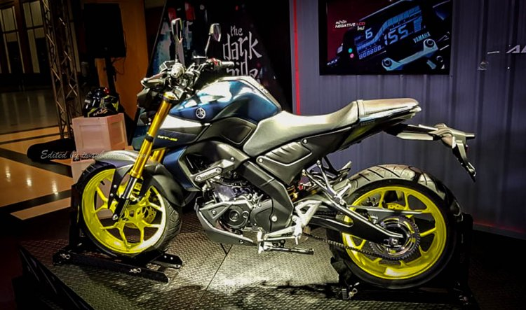Yamaha Mt 15 2019 Side Profile