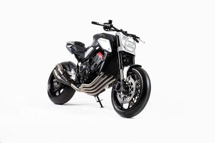 Honda Neo Sports Cafe Concept 650 Studio Shot Right