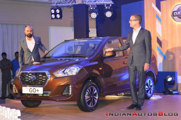 2018 Datsun Go+ (Facelift) Launched Front Left Quarter