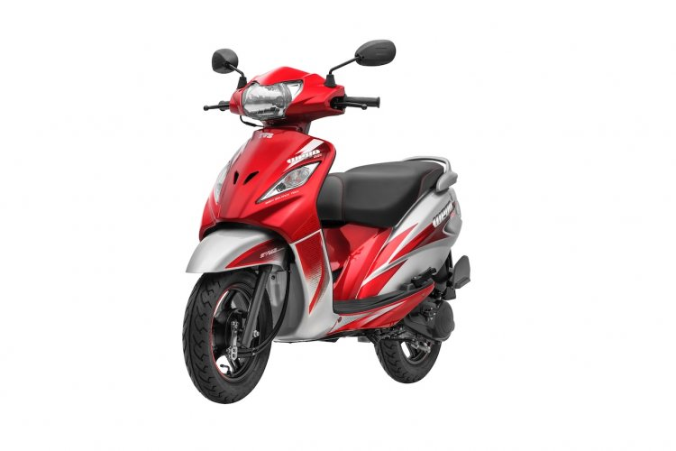 New Tvs Wego Front Three Quarters