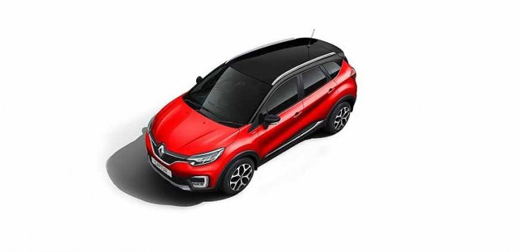 Renault Captur Radiant Red New Paint Option Top Vi