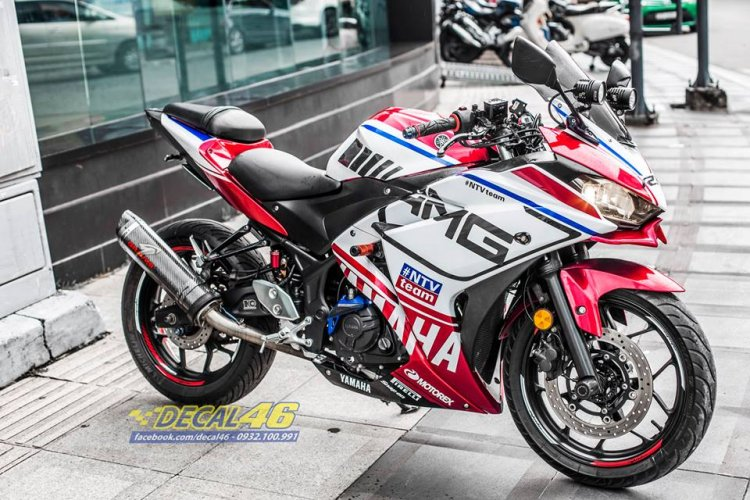 Modified Yamaha YZF-R3 From Vietnam Right Front Quarter