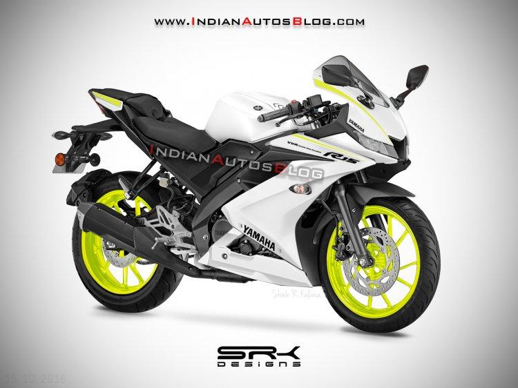 Yamaha R15 V3 0 Competition White Digital Renderin