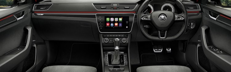 Indian Spec Skoda Superb Sportline Interior Dashbo