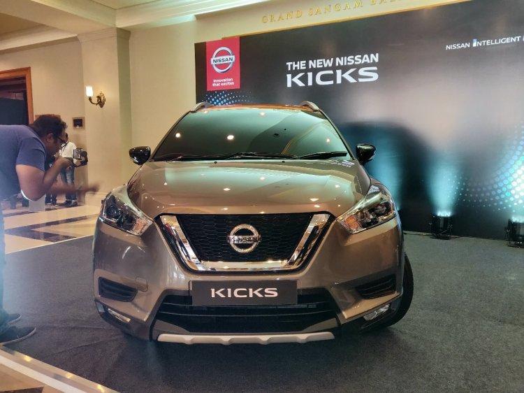 Indian Spec Nissan Kicks Front