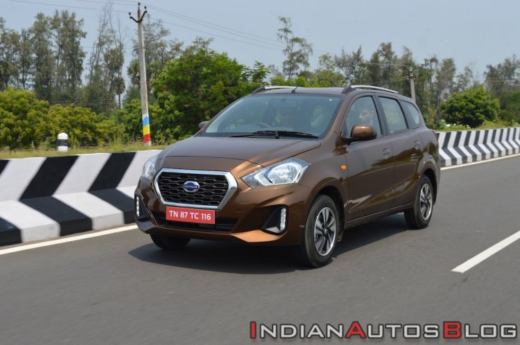 2018 Datsun Go Facelift Front Three Quarters Left