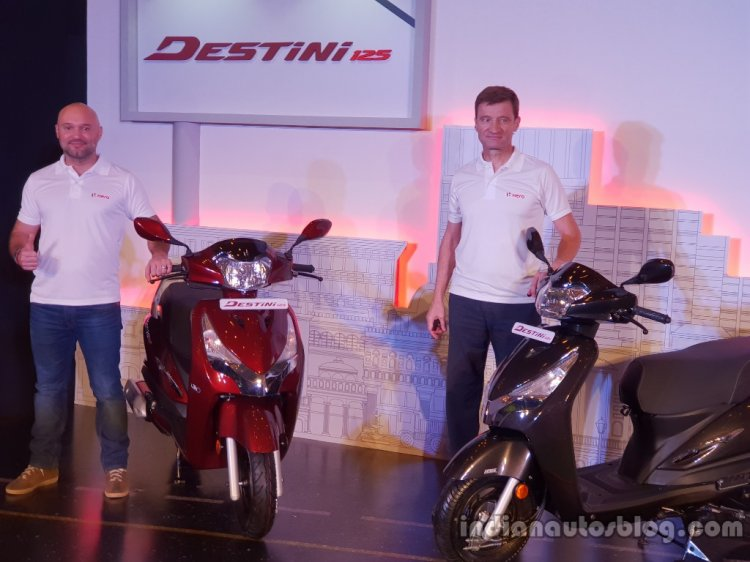 Hero Destini Launched In India Photos From Launch