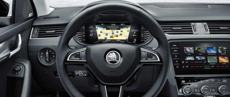 Skoda Octavia Virtual Cockpit